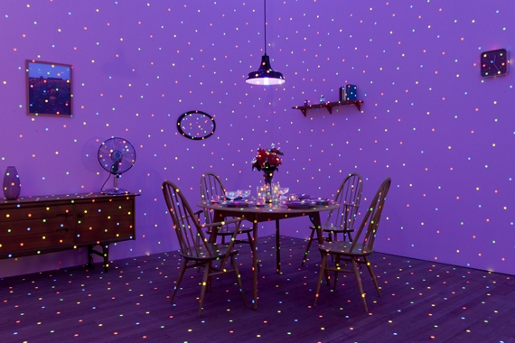 Yayoi Kusama, I'm Here but Nothing 2000