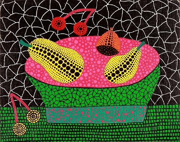 yayoi-kusama Fruits 1995