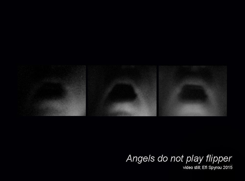 Video still from Angels Do Not Play Flipper by Efi Spyrou