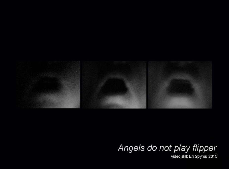 Video still from Angels Do Not Play Flipper by Efi Spyrou