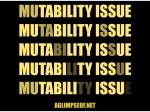 ago Mutability Issue