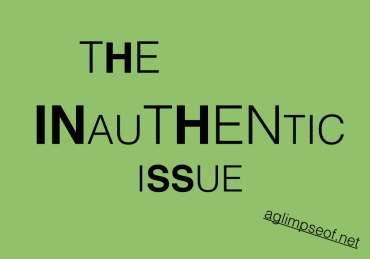 THE INAUTHENTIC ISSUE